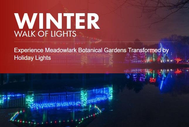 7 54 - Meadowlark's Winter Walk Of Lights Meadowlark Botanical Gardens December 28