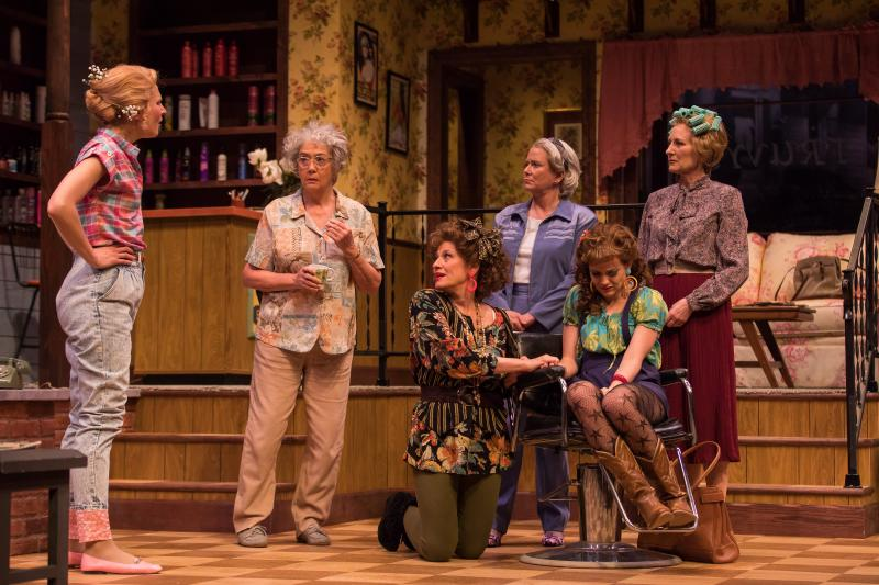 The cast of Geva Theatre Center's STEEL MAGNOLIAS. Photo by Goat Factory Media Entertainment.